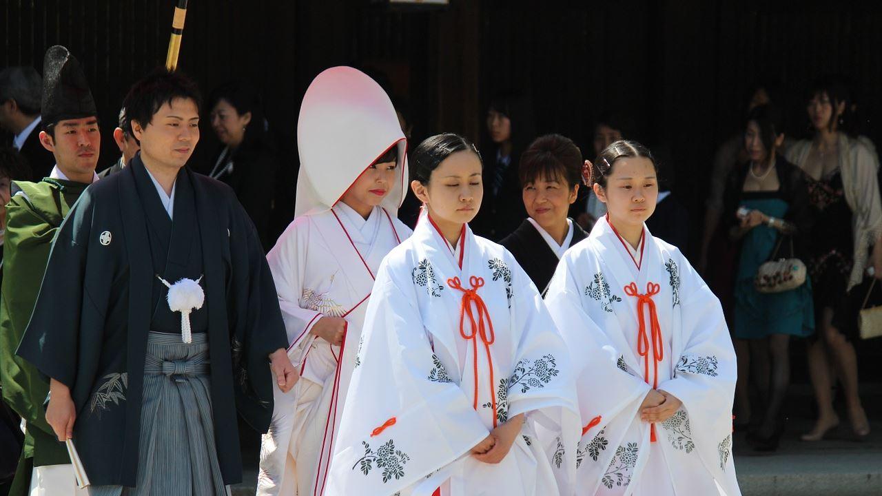 traditional Japanese wedding